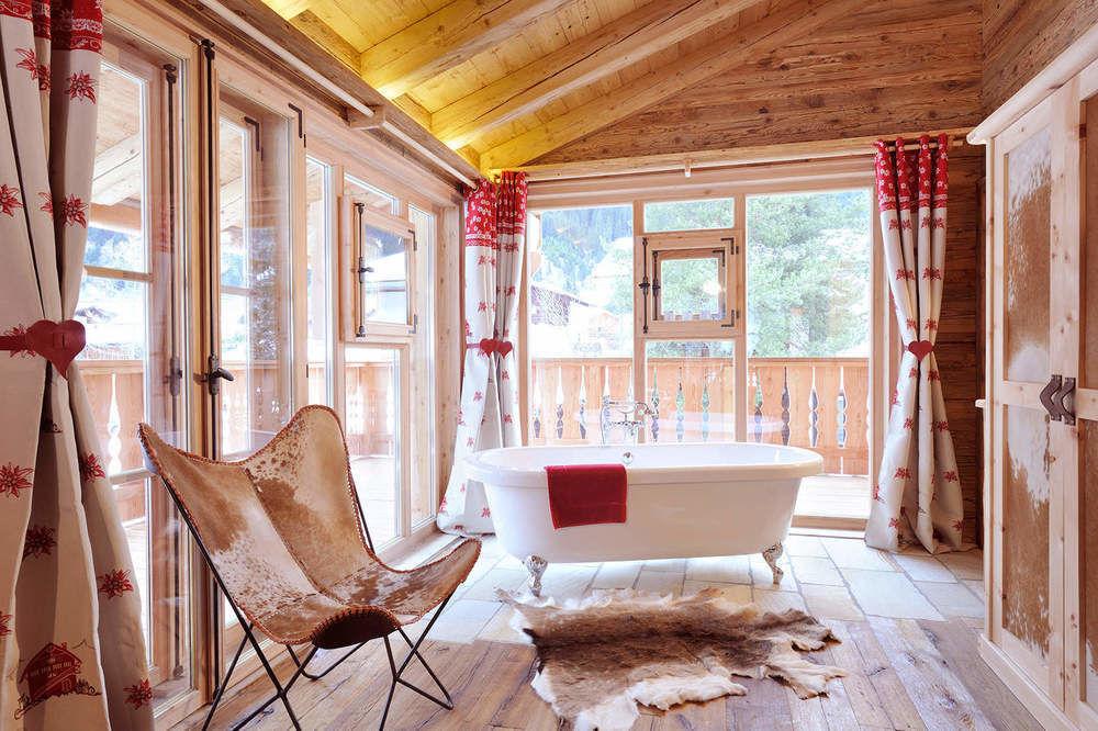Wohnen im luxus chalet in tirol bergh tten sterreich for Modernes wellnesshotel tirol