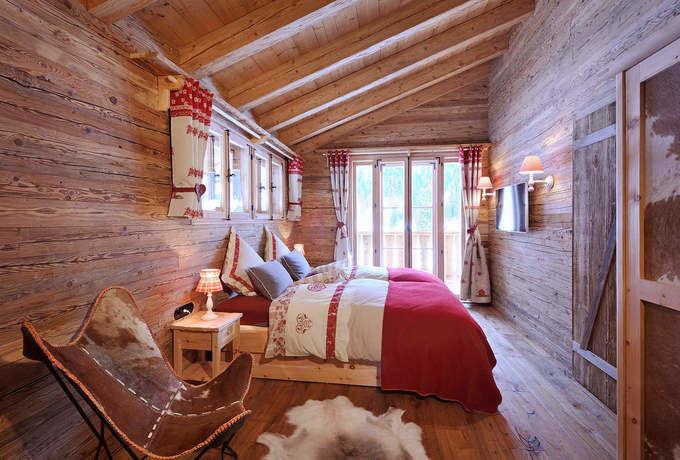 Luxus chalet tirol sterreich bergh tten chalets - Camere da letto di montagna ...