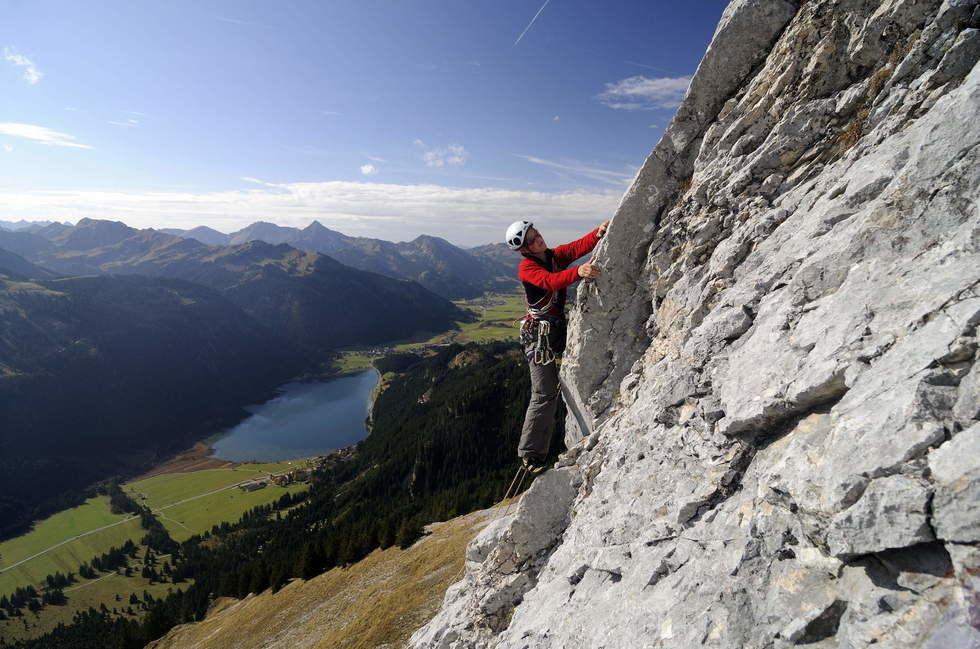 Klettersteig Tannheimer Tal : Klettern tannheimer tal kletterwald klettersteige hochseilgarten